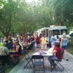 Food Truck Café at Lake Lily Park on May 10, 2011