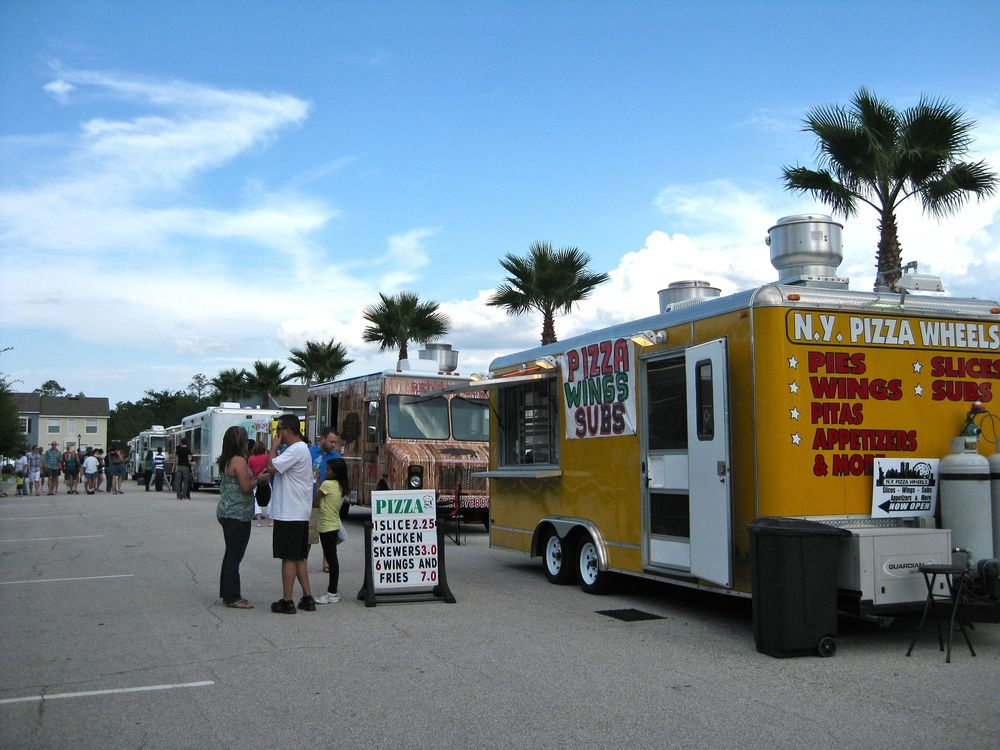 Food Trucks To The Rescue At Avalon Park FORKFUL - Avalon truck