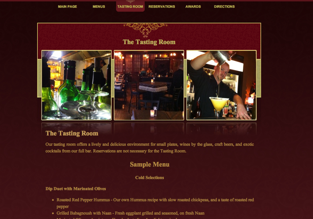 The Tasting Room At The Chef S Table In Winter Garden Forkful