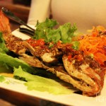 Deep-Fried Red Snapper with Sweet Chili Sauce