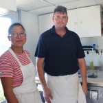 Jeff and Luz of K Burgers