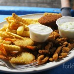 Combination Fried Seafood Platter