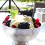 Fresh Berries in a Vanilla Creme Anglaise