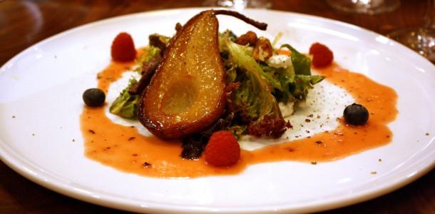 Pear Salad © Kathleen Drozdowski