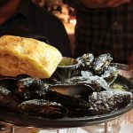 Black Skillet Roasted Mussels