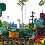 Epcot Flower and Garden Festival — Mickey and Minnie