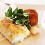 Gulf Wild Black Grouper with Risotto Arancini