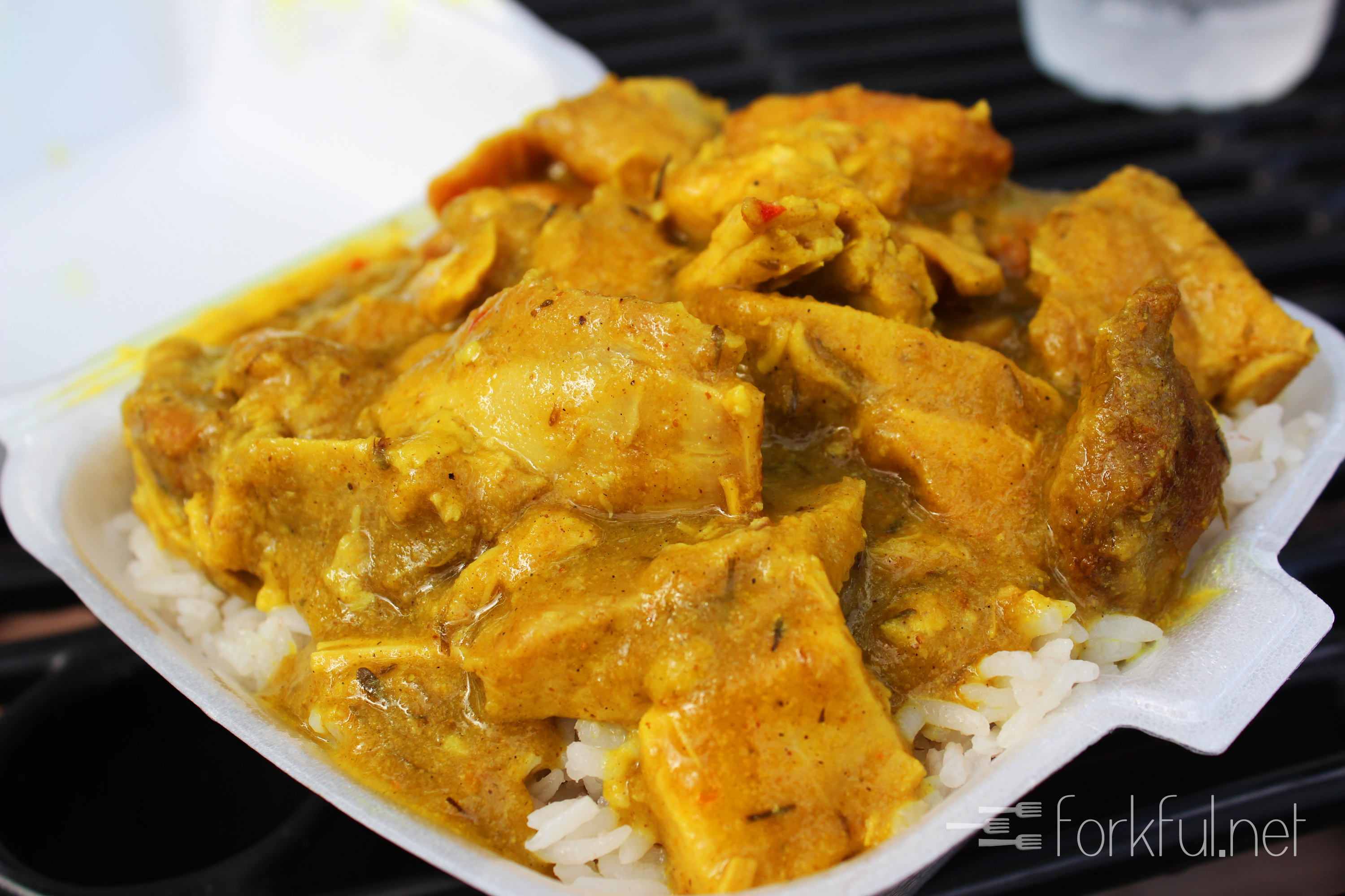... Elaine's at Lake Lily Farmers' Market » Spicy Jamaican Curry Chicken
