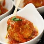 Burdo's Famous Veal Meatball