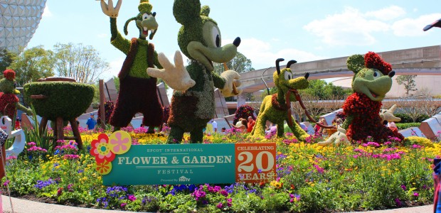 Highlights: Epcot Flower and Garden Festival 2013