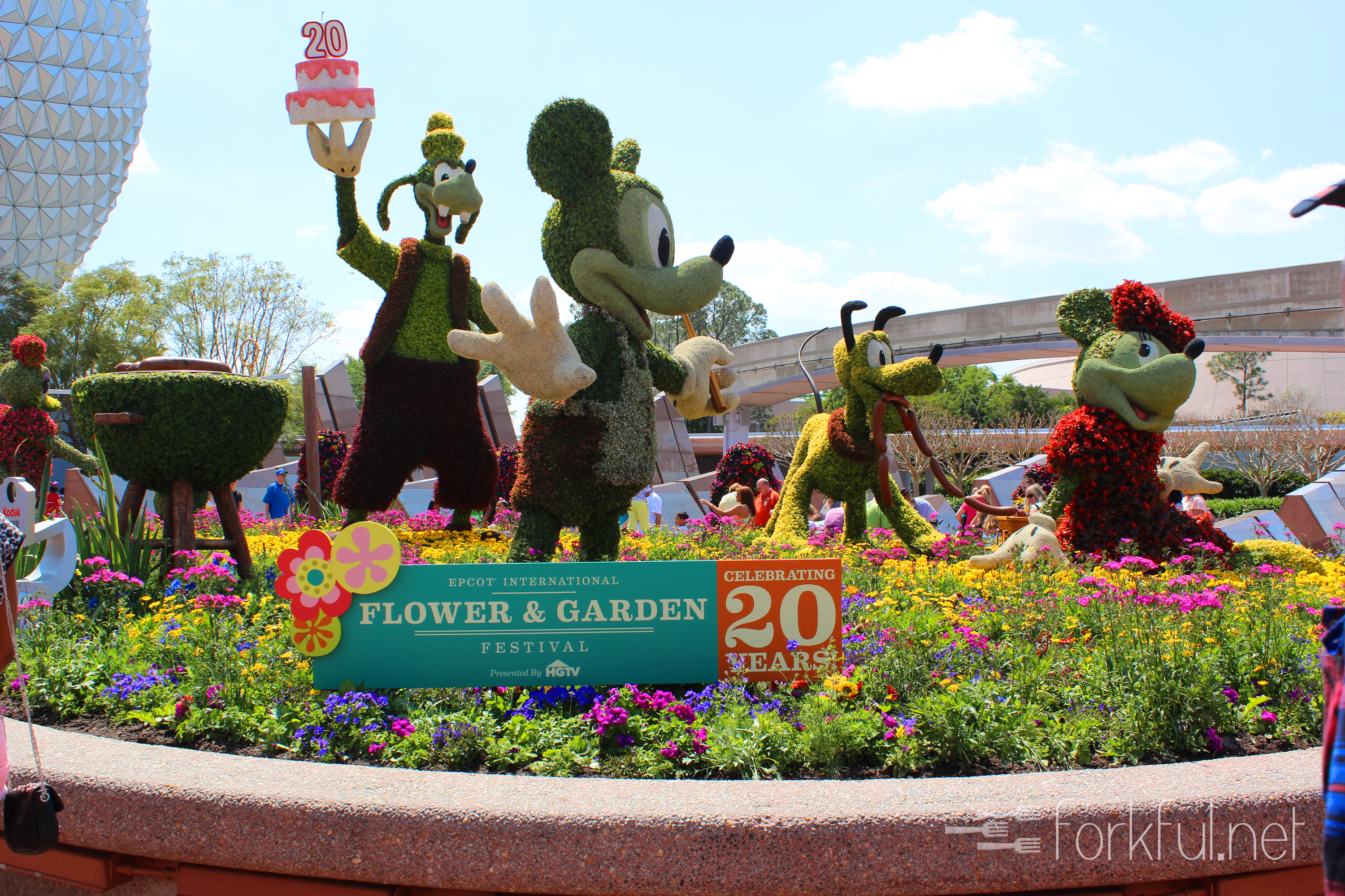Highlights Epcot Flower And Garden Festival 2013 Forkful