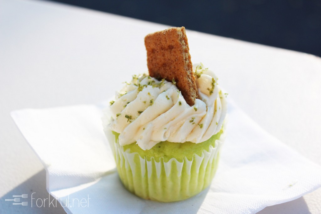 Stay Calm Cupcake — Key Lime Cupcake