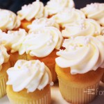 Sweet Vanilla Cupcakes with Cream Cheese Frosting