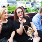 Ann and Lisa Enjoy Oliva Cigars