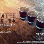 Coffee Cupping Event — September 6 (Image Provided by chattybeecreative.com )