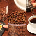 Single Origin Coffee — Weighing Beans for Each Cup