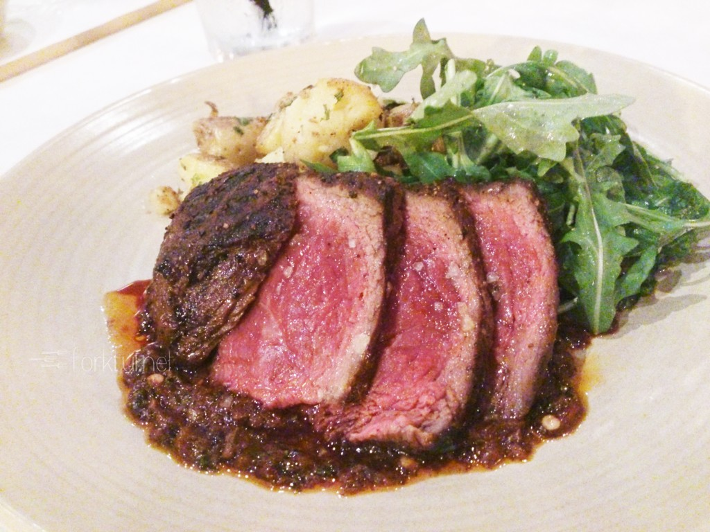 The Crooked Spoon - Cocoa Rubbed Grass-fed Culotte Steak