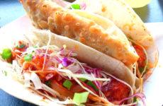 Tako Cheena Panko Crusted Cod Taco