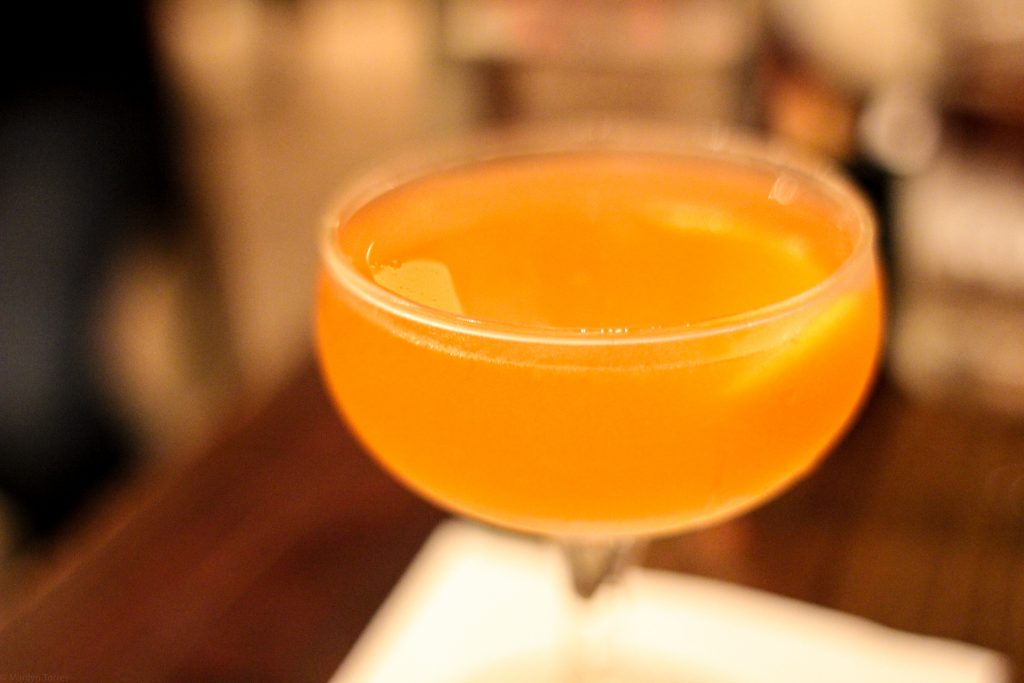 Mars Iwai Japanese Whiskey, Aperol, Chartreuse, Lemon